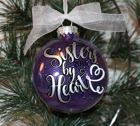 best friend ornament sisters by heart christmas ornament