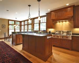 beautiful cherry cabinets trend new york craftsman kitchen