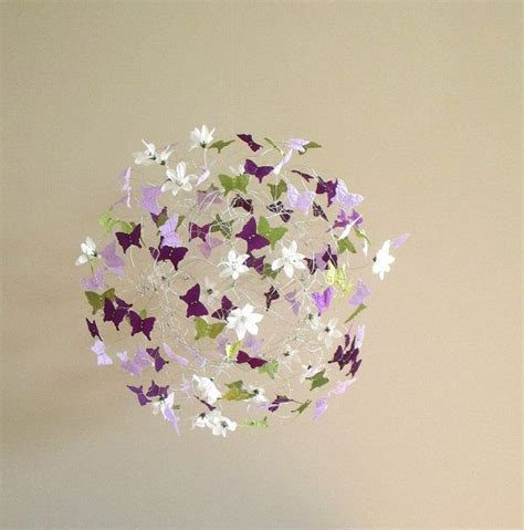 Butterfly Mobile For Crib by Butterfly Mobile Baby Mobile For Nursery Purple By