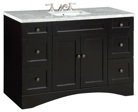 chans furniture v 91712c alvin 47 quot alvin bathroom undermount sink vanity cabinet model