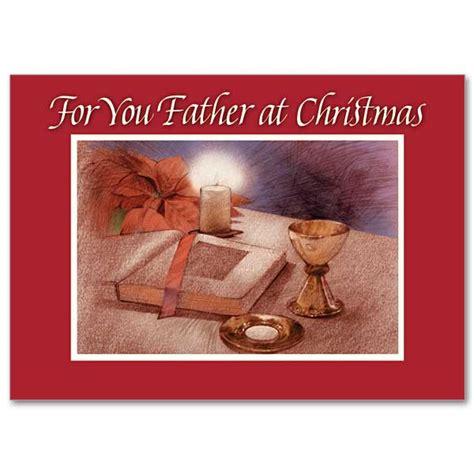 father  christmas christmas card  priest