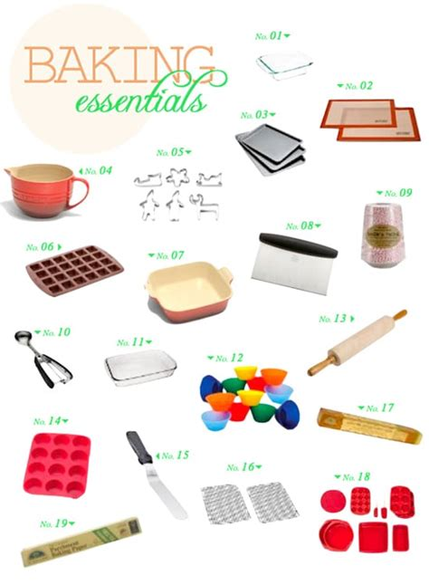 8 Kitchen Faucet baking essentials the healthy apple