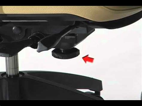 Office Chairs How To Adjust Global Chair Tilt Tension Adjustment