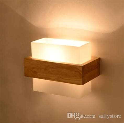 Wandleuchten Innen Vintage by Best Quality Northern Europe Style Aplik Wood Led Wall