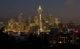 lights in seattle ready to hang lights try the space needle at