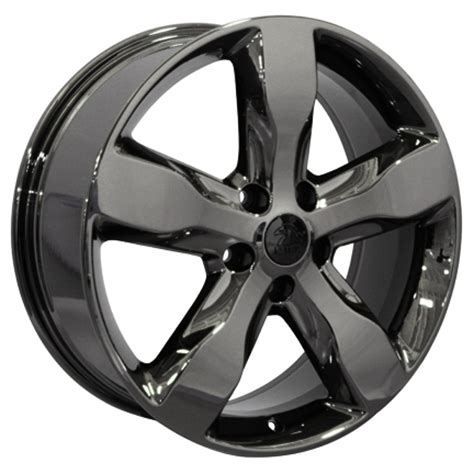 Jeep Grand 20 Inch Wheels 20 Quot Jeep Grand Wheels Oem Style Black Chrome