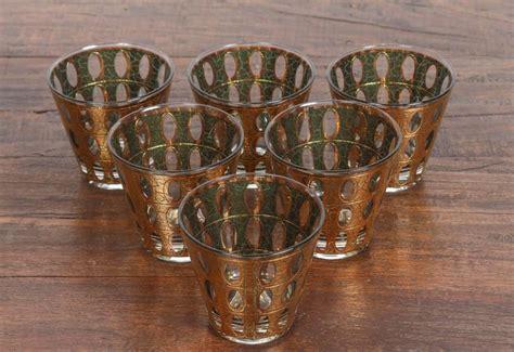 culver barware vintage mid century culver pisa barware cocktail set at