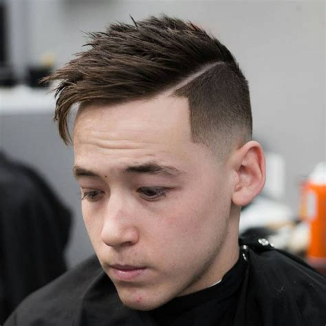 male off centred part haircut 60 awesome asymmetrical haircuts for men 2018 vibe