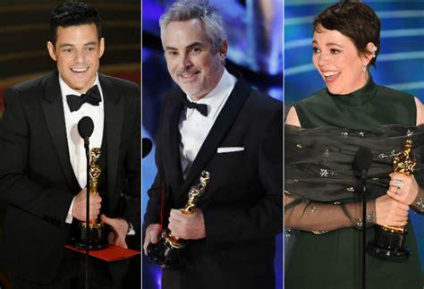 Los Ganadores De Los Premios Oscar 2019 Oscars 2019 Todos Los Ganadores De Los Premios Oscar 2019 Premios Oscar 2019