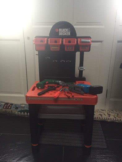 black and decker tool bench toy black decker toy workbench tool for sale in athy kildare
