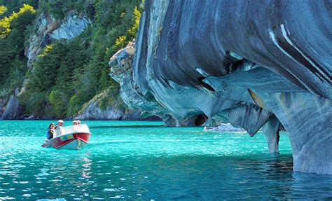 marble caves chile marble caves of patagonia chile when on earth for