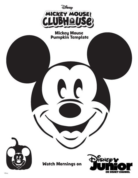vire mickey mouse pumpkin template mickey mouse pumpkin template mickey mouse clubhouse