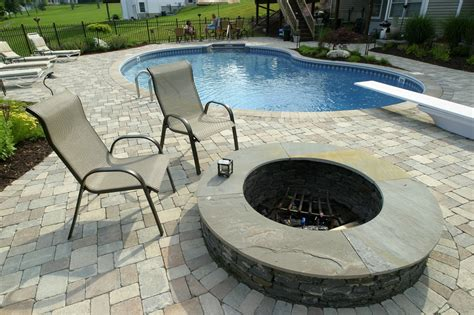 Pool Patio Designs Paver And Concrete Around Pool Pool Patio 1024x682 Set Your Landscape And Swimming Pool Areas