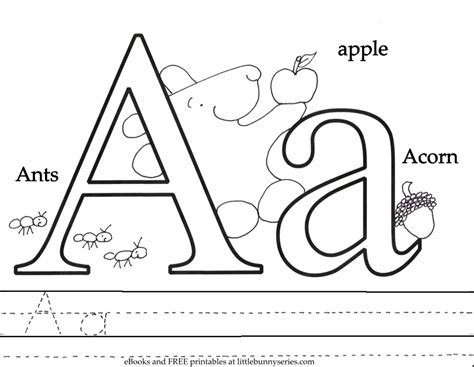 preschool coloring pages pdf letter a coloring page pdf coloring book pdf for