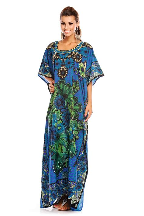 Kaftan Kimono 1 floral oversized maxi kimono kaftan tunic kaftan dress plus size