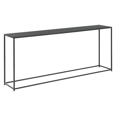 Metal Console Table Habitat Calvo Black Metal Console Table Mysmallspace