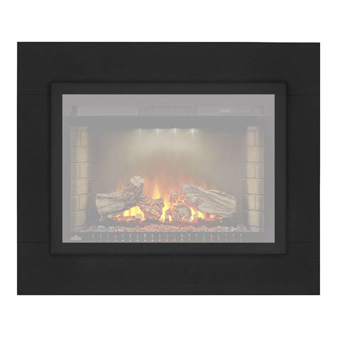 Flush Electric Fireplace by Napoleon 41 Inch Cinema Electric Fireplace Flush Mount Conversion Kit Neft29blk