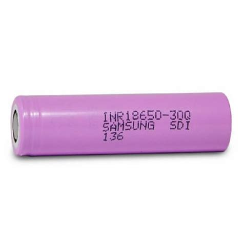 Samsung Inr 18650 30q Li Ion Battery 3000mah 37v With Flat Top 2yz5 18650 samsung inr18650 30q 3000mah