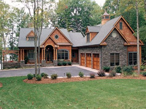 Cabin House Plans With Photos | lakeside cottage house plan cottage house plans one story