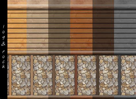 Log Cabin Interior Colors by Mod The Sims Log Cabin Interior Wall Set 18 Colors