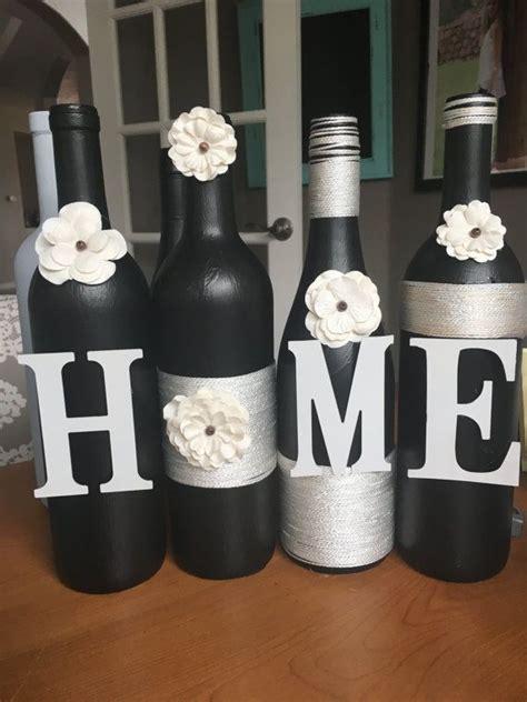 wine decorations for the home best 10 wine bottle vases ideas on pinterest chalkboard