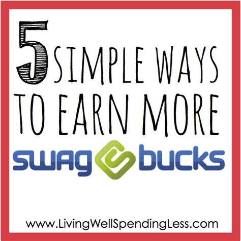 5 Great Ideas To Check Out by Earn Swagbucks Living Well Spending Less 174