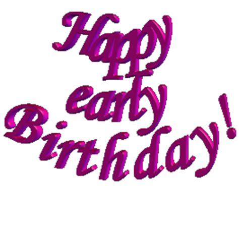 Happy Early Birthday Wishes Happy Birthday Fern Hotukdeals