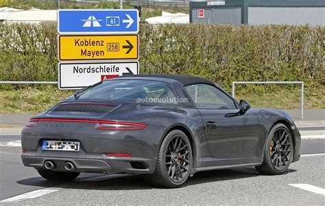 porsche targa 2017 2017 porsche 911 targa gts 991 2 spied near the