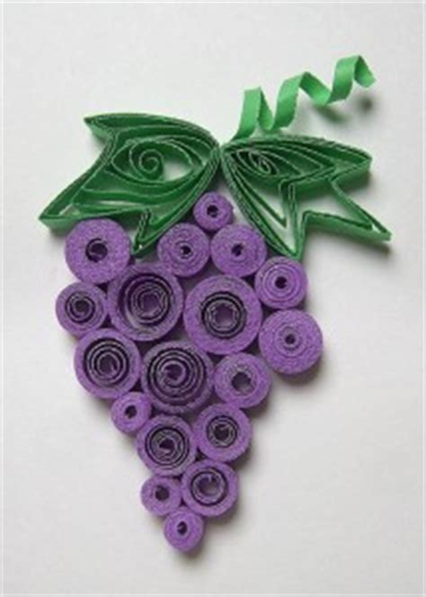 How To Make Paper Grapes - fruit craft idea for crafts and worksheets for