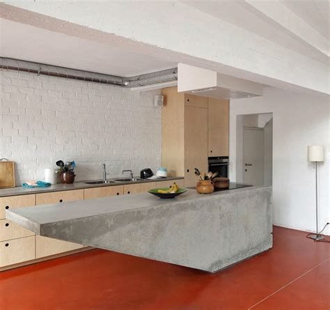 island in a kitchen go beyond the common aesthetics with concrete kitchen islands