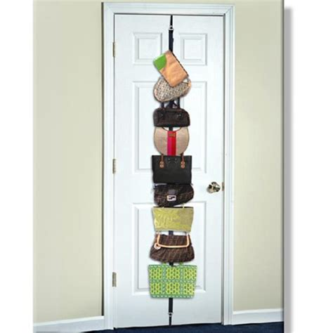 over the door purse rack bag rack over the door purse or bag holder for college girls dorm rooms is an essential space