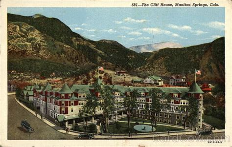 cliff house colorado springs the cliff house manitou springs co