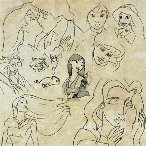 sketchbook x disney sketches by nataliebeth on deviantart
