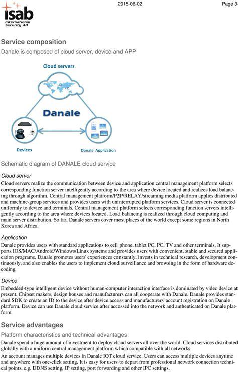 how do i register my as a service danale cloud service service profile pdf