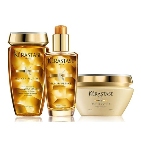 Kerastase Exilire Ultime 100ml k 233 rastase elixir ultime set shoo 250ml 100ml treatment 200ml