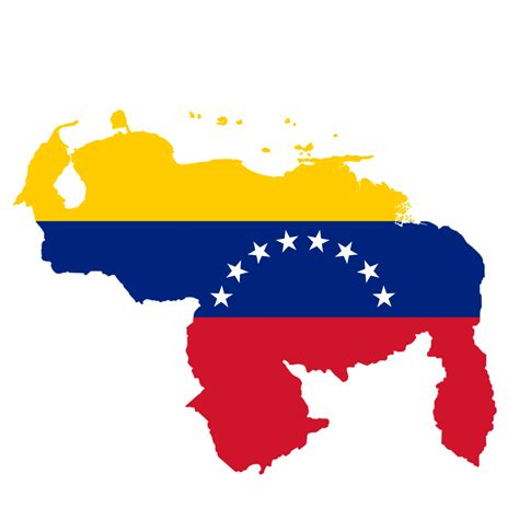 Imagenes De Venezuela Con La Bandera | mapa de venezuela con la bandera de venezuela en p by