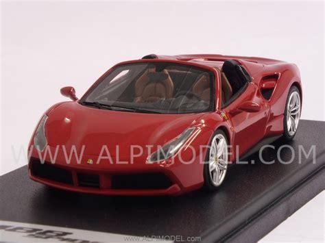 Ls451b 1 looksmart ls451b 488 spyder frankfurt motorshow 2015 new rosso corsa metallic 1 43