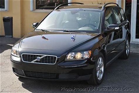 volvo station wagon 2007 sell used 2007 volvo v50 station wagon in miami florida