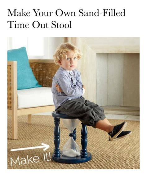 Sand Filled Time Out Stool by Quot Diy Your Own Sand Filled Time Out Stool Quot Trusper