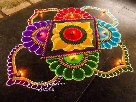 design rangoli free hand beautiful rangoli designs for diwali latest free hand