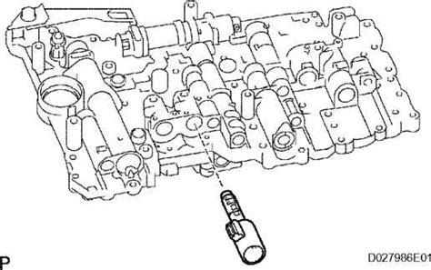 transmission control 2007 toyota avalon free book repair manuals remove shift solenoid valve toyota sequoia 2006 repair
