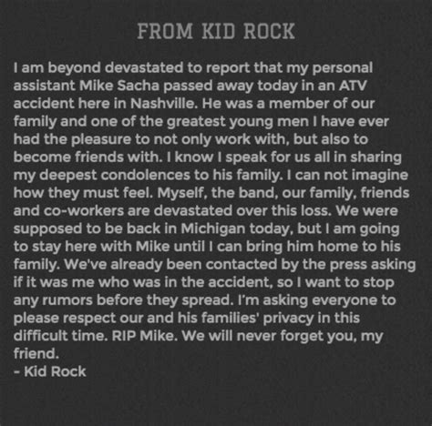 kid rock residence kid rock s personal assistant found dead at rocker s
