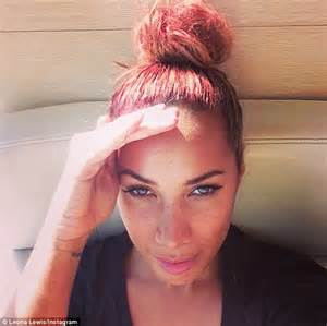 what to do with old sofa leona lewis undergoes a complete style overhaul as she opts for an edgy new look with a scarlet