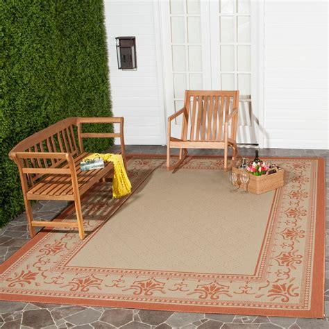 safavieh cy0901 1e06 courtyard indoor outdoor area rug lowe s canada safavieh courtyard terracotta 8 ft x 11 ft indoor outdoor area rug cy0901 3201 8 the