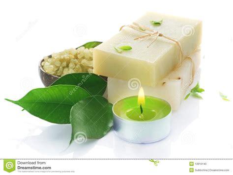 Handmade Herbal Soap - handmade soap stock photo image 13910140