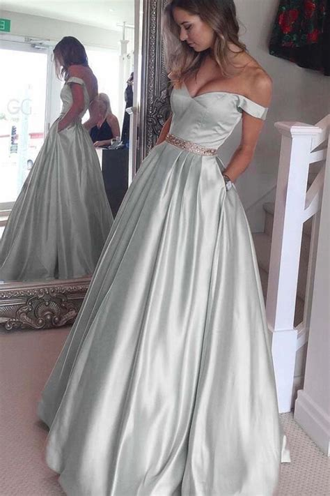 light blue satin dress light blue satin prom dress gown the