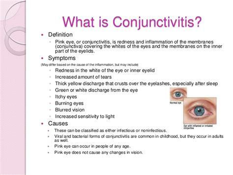 pink eye symptoms and treatment