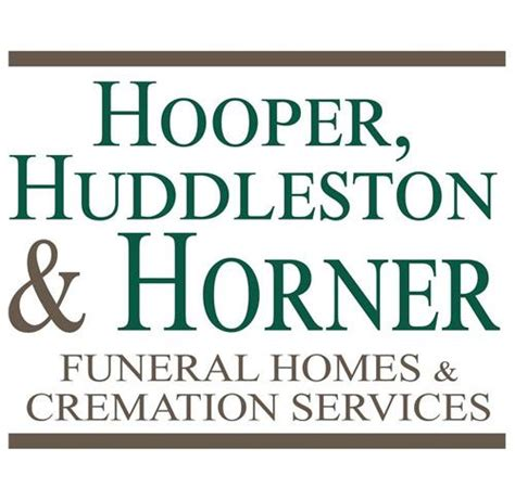 hooper huddleston horner funeral homes cremation