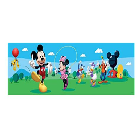 cenefas mickey mouse cenefa para pared de mickey y minnie cenefas para pared