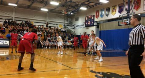 boys basketball and company packs the place for lemont